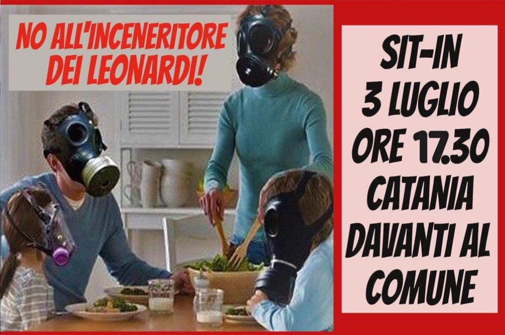 Catania: domani sit-in contro l'inceneritore dei Leonardi