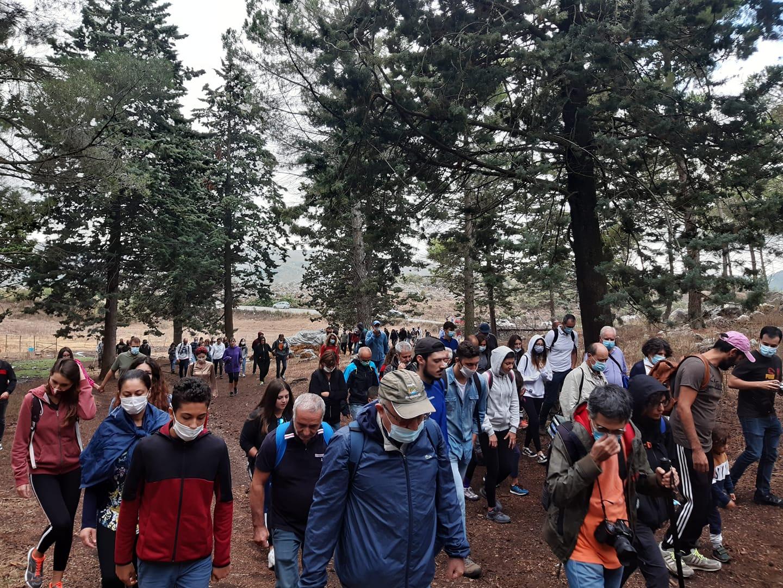 Altofonte (PA): dopo l'incendio, una marcia silenziosa sulla Moharda