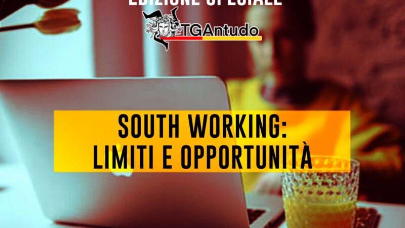 TGAntudo – South Working: limiti e opportunità