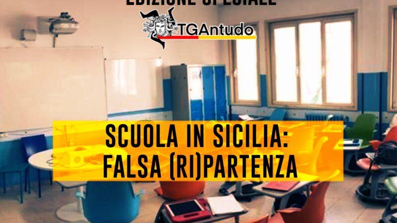 TGAntudo – Scuola in Sicilia: falsa (ri)partenza