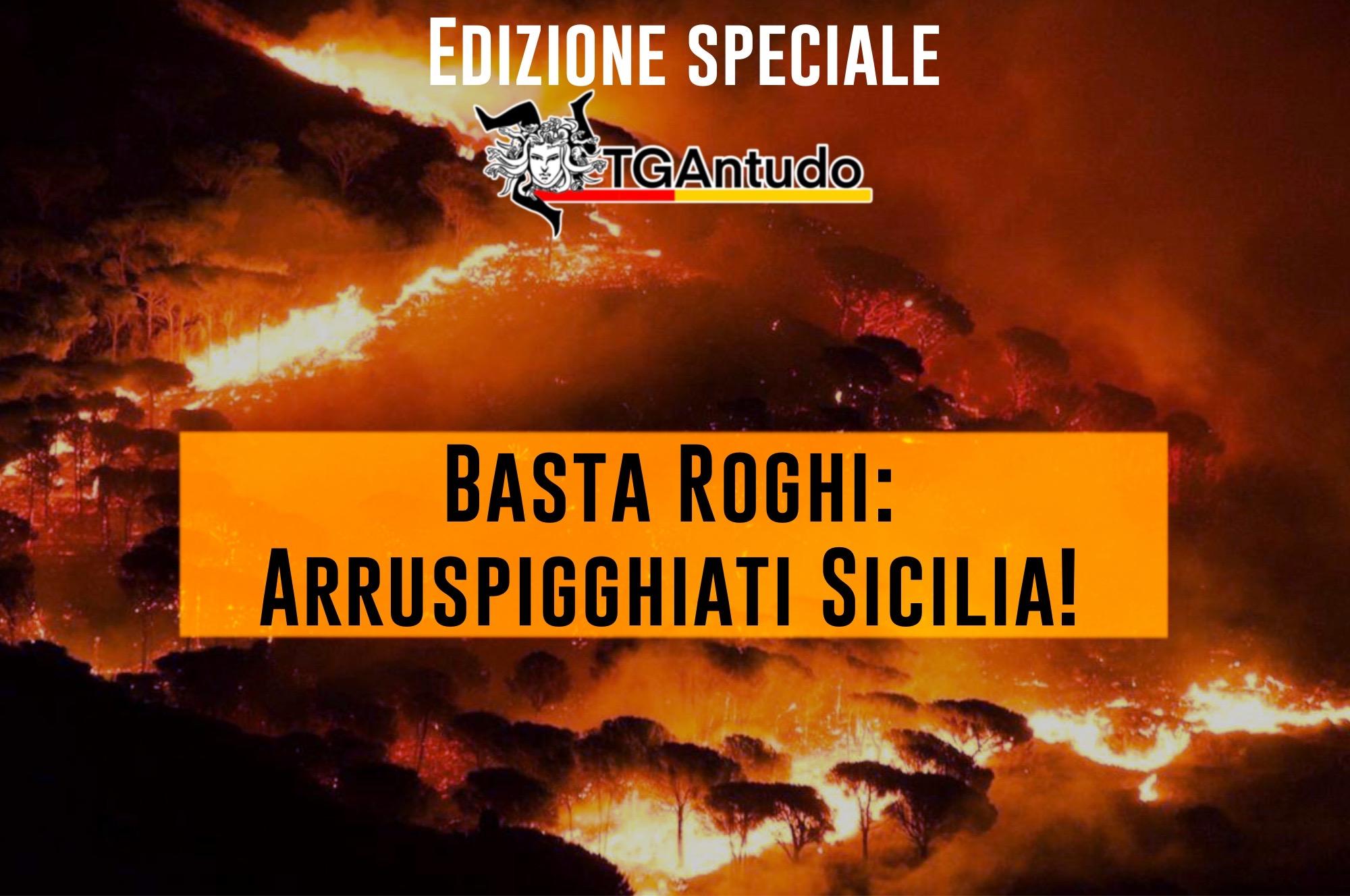 TGAntudo  – Basta roghi: arruspigghiati Sicilia!