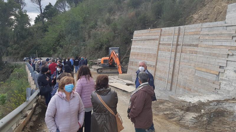 Messina: protesta per la riapertura della strada Portella-San michele