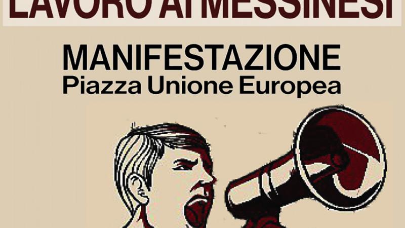 Messina, il 29 gennaio in piazza: «garantire lavoro, salario e salute».