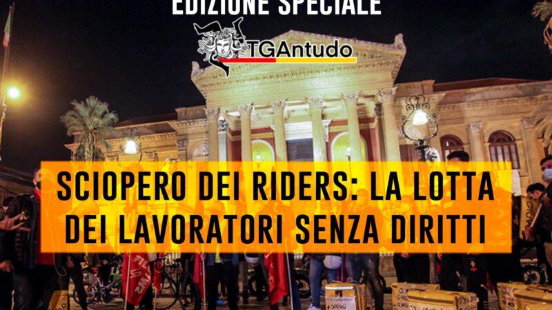 TGAntudo – 📌Sciopero dei riders: la lotta dei lavoratori senza diritti