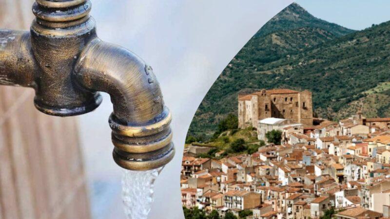 Emergenza idrica a Castelbuono: rubinetti chiusi alle 9 del mattino