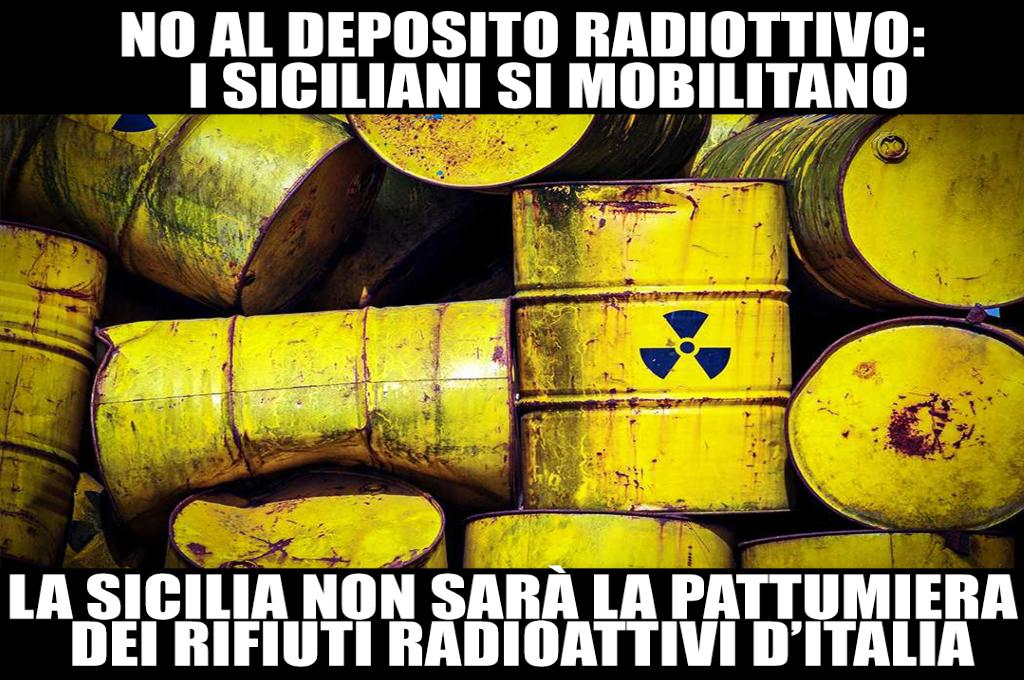Sicilia. No al deposito radioattivo: il primo incontro pubblico lancia la manifestazione
