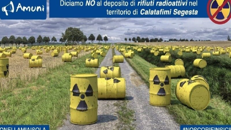 Anche da Calatafimi-Segesta arriva il NO al deposito radioattivo
