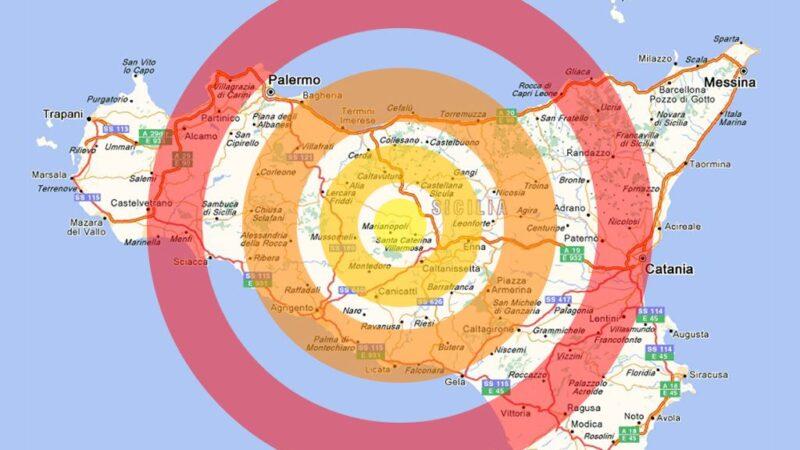 Il rischio sismico in Sicilia