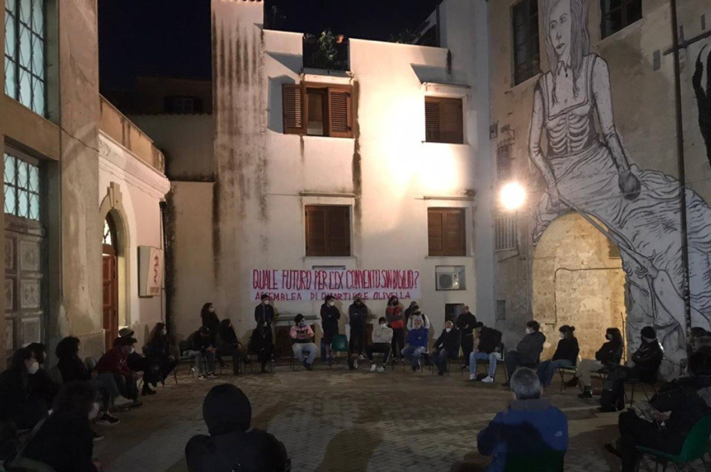 Palermo: assemblea sul futuro dell'Ex Convento San Basilio