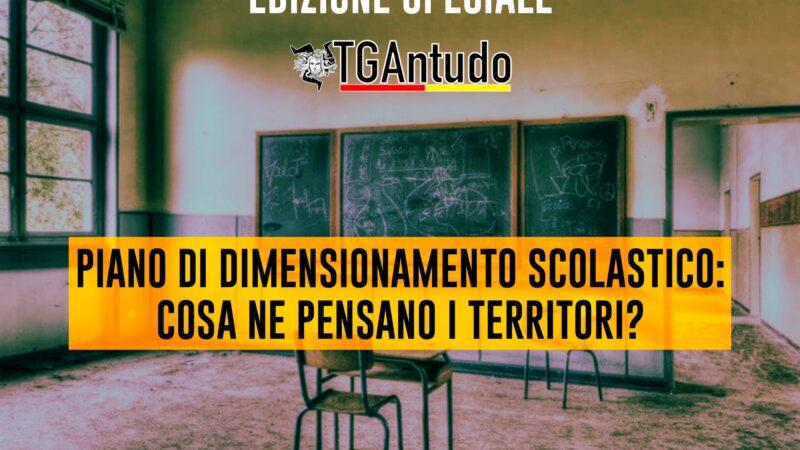 TGAntudo – Piano di dimensionamento scolastico: cosa ne pensano i territori?