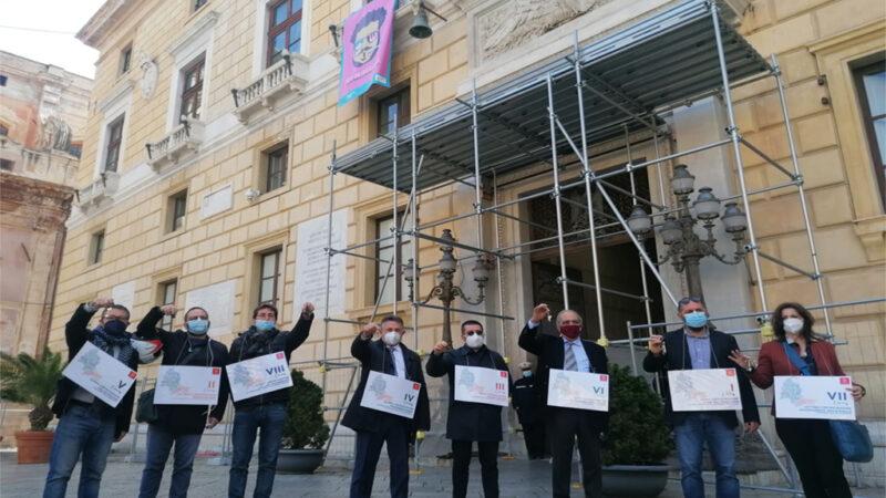 Palermo, Regolamento sul Decentramento: in piazza i Presidenti di Circoscrizione