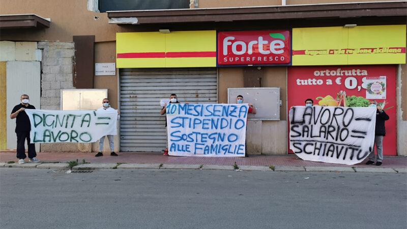 Sciopero a oltranza dei lavoratori Forté. Senza stipendio da 10 mesi