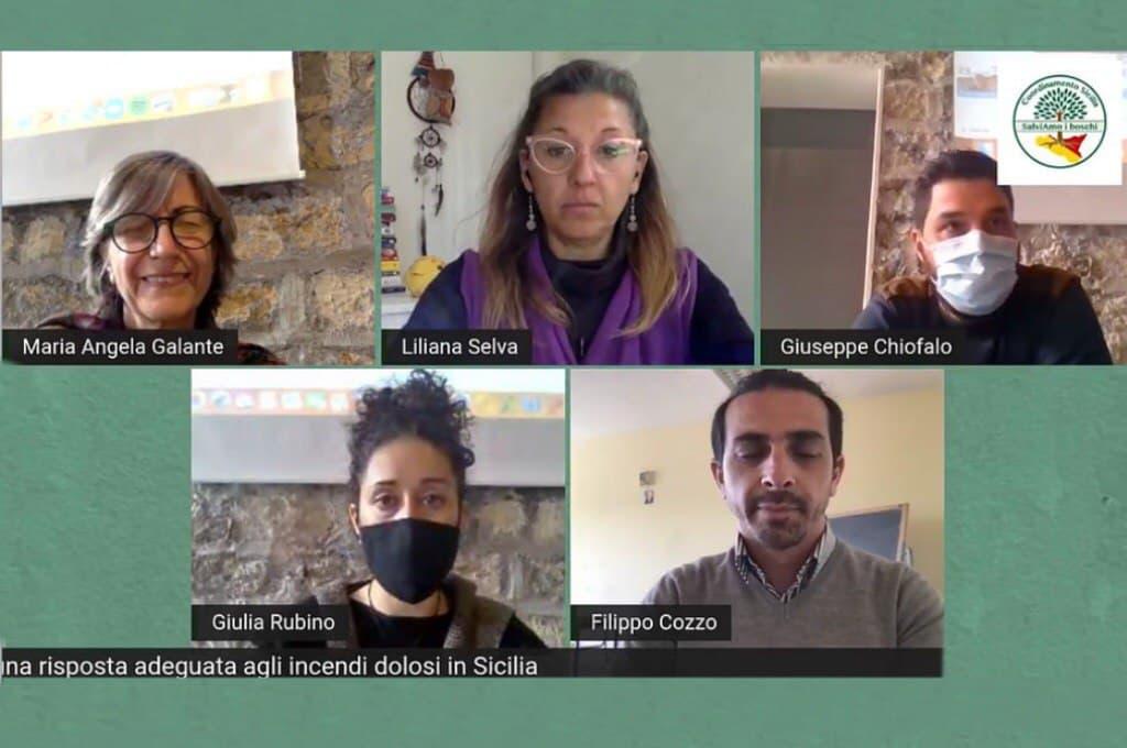 """""""Salviamo i Boschi"""": per una politica di contrasto attivo agli incendi in Sicilia"""