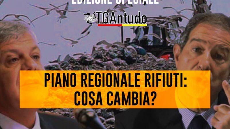 TGAntudo – Edizione Speciale – Piano regionale rifiuti: cosa cambia?