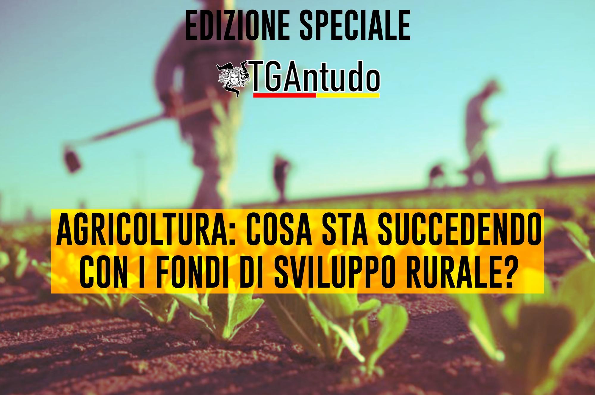 TGAntudo – Agricoltura: cosa sta succedendo con i fondi di sviluppo rurale?