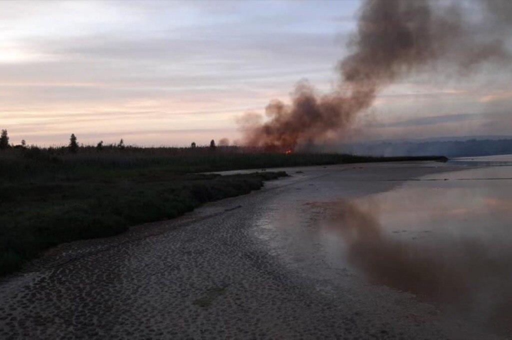 Ancora incendi nel Siracusano. Brucia la Riserva naturale di Vendicari.