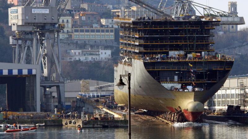 Cantieri Navali di Palermo: svenduti i due bacini di carenaggio
