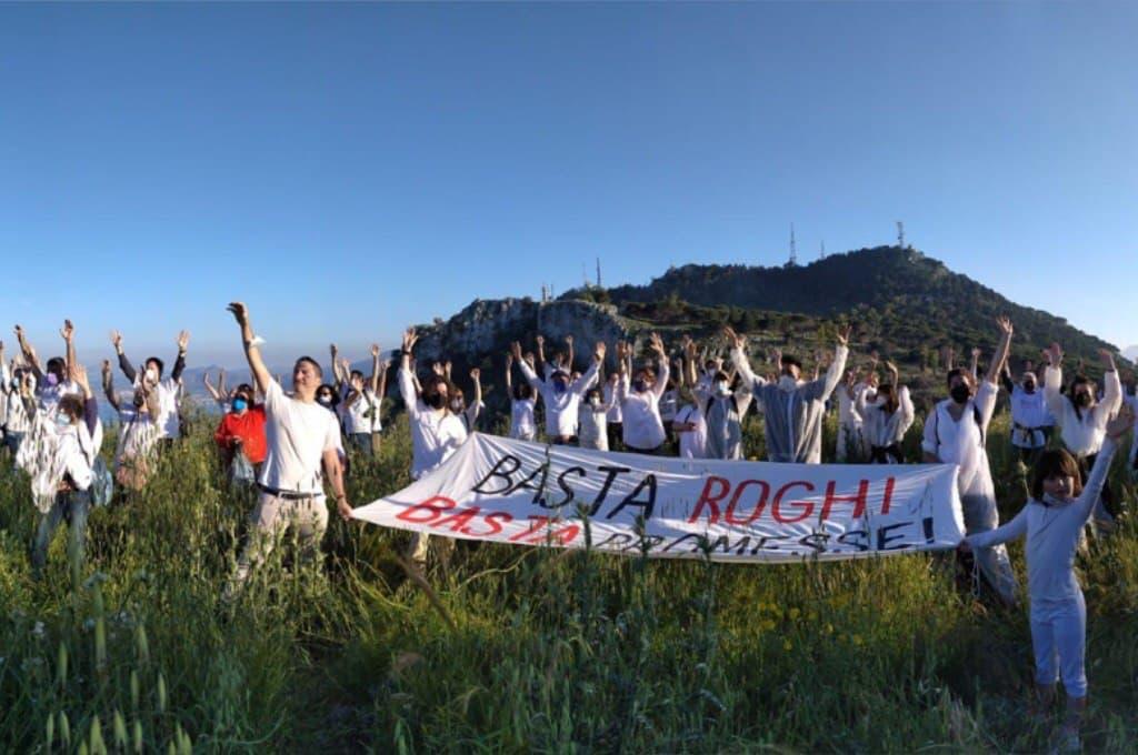 Faciemu scrusciu: flash-mob in tutta la Sicilia contro gli incendi