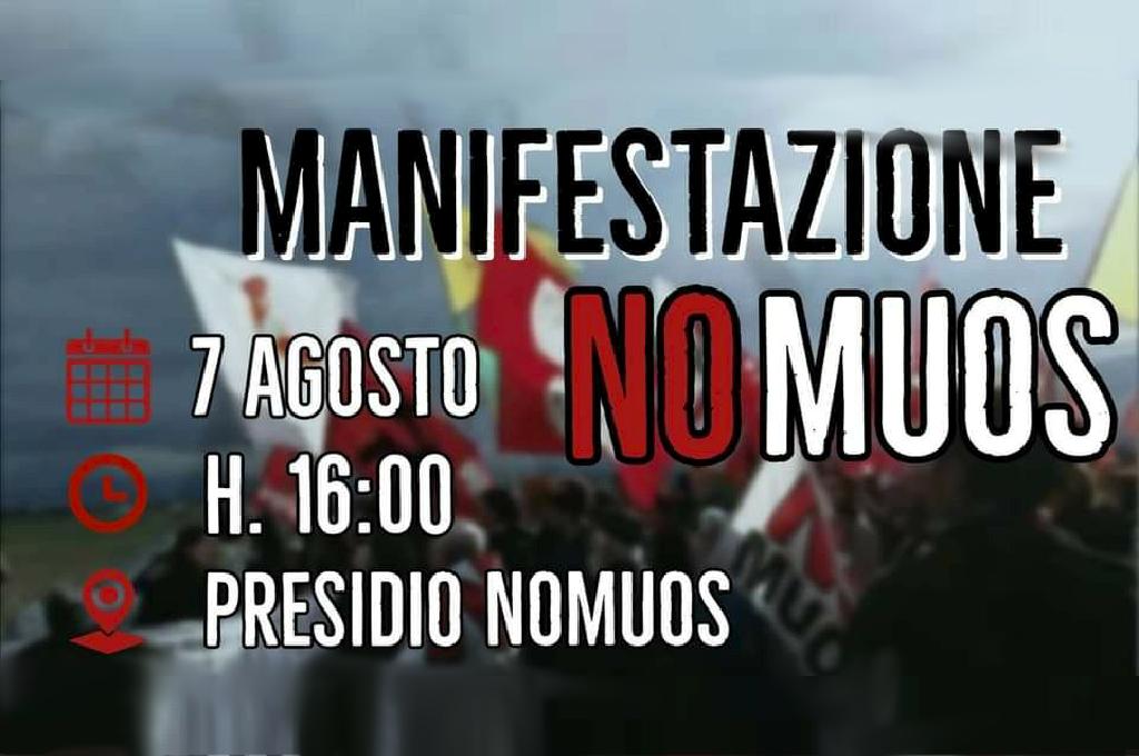 7 Agosto, Niscemi. Si torna in piazza contro il Muos