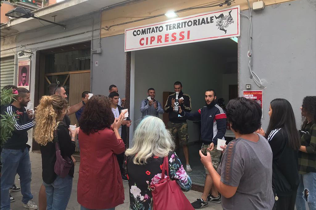 Palermo: inaugurata la sede del Comitato Territoriale Cipressi alla Zisa