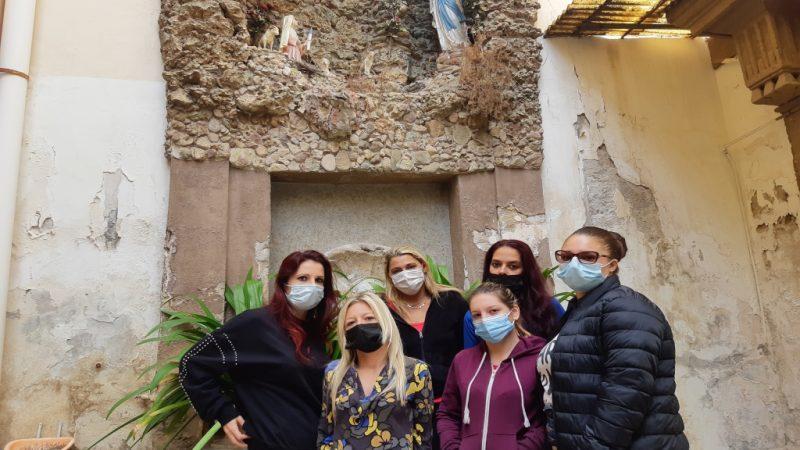 Palermo, famiglie dell'ex Monastero delle Vergini: «basta soluzioni precarie»