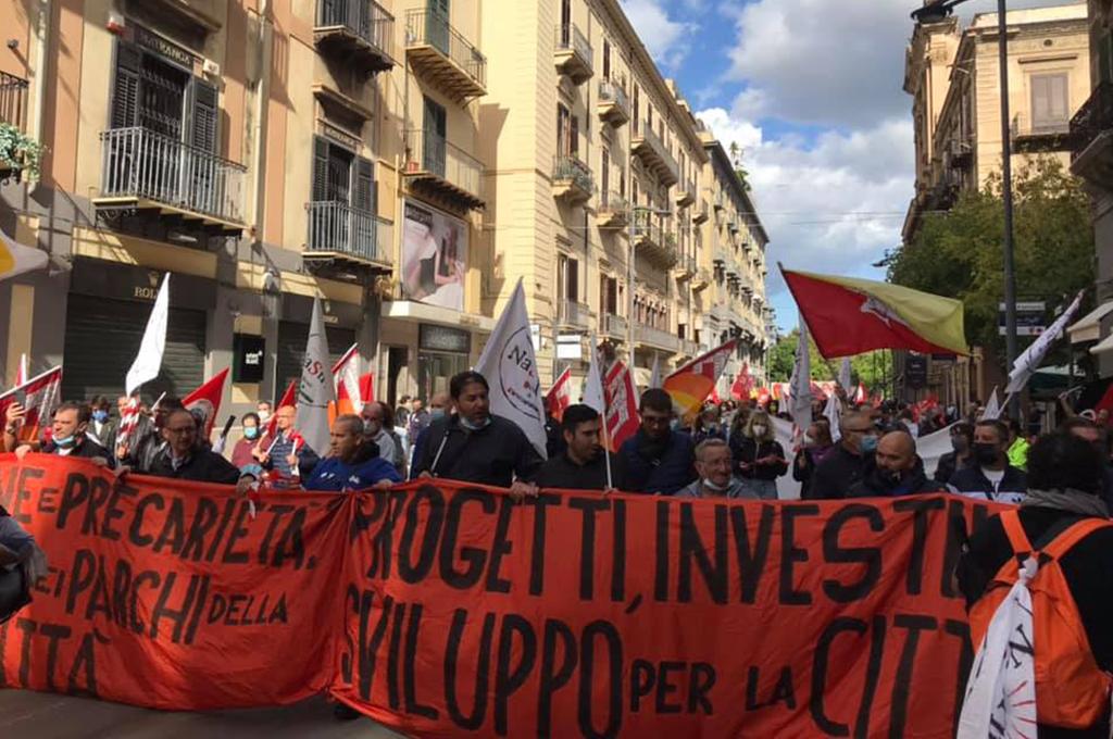 Sciopero generale contro il Governo italiano